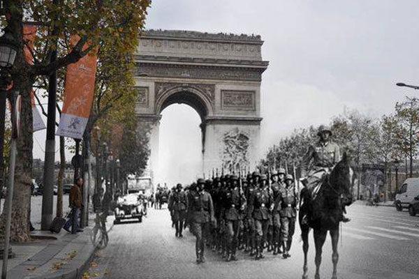 Parte da França dominada