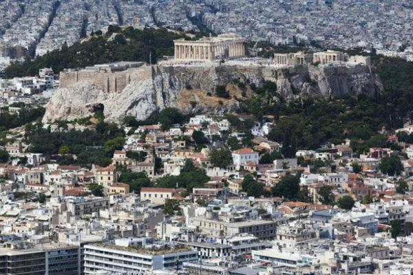 Arredores do Partenón