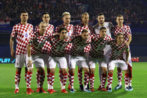 A seleção da Croácia