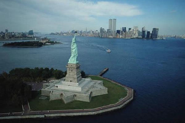 Arredores da Estátua da Liberdade