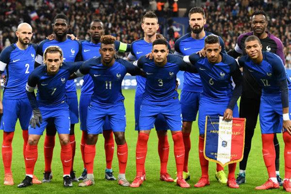 A seleção da França