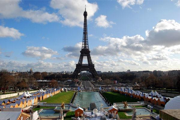 Arredores da Torre Eiffel