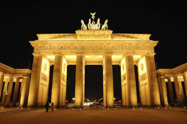 O portão de Brandemburgo