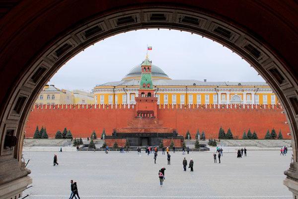 Arredores da tumba de Lenin
