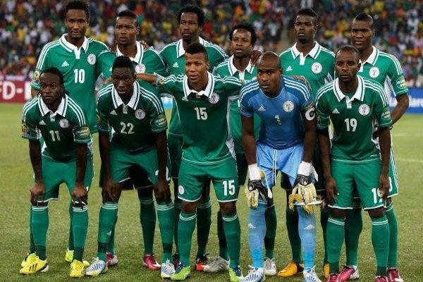 A seleção da Nigéria