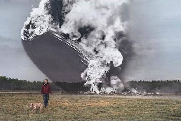 Acidente do Zeppelin Hindenburg
