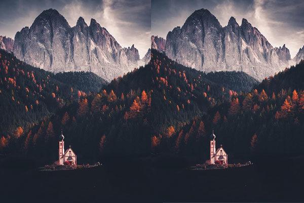 Entre montanhas