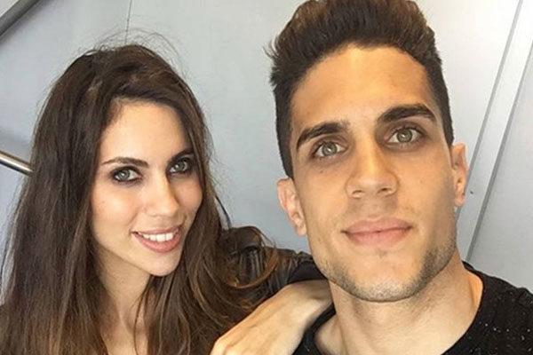 Melissa Jiménez esposa de Marc Bartra