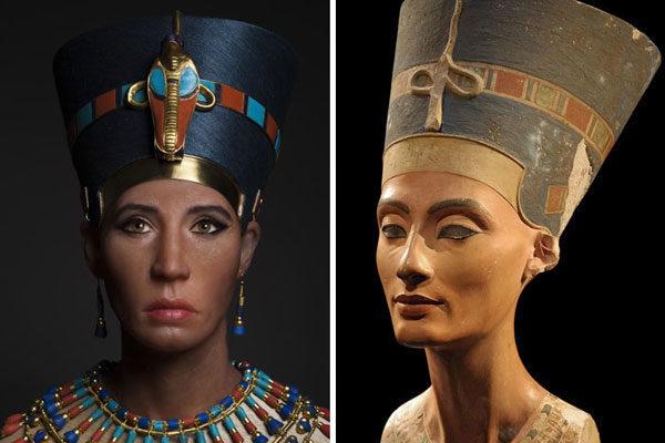 Mãe biológica do rei Tut, provavelmente Nefertiti