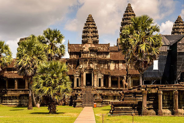 Angkor Wat, Siem Reap, Camboja